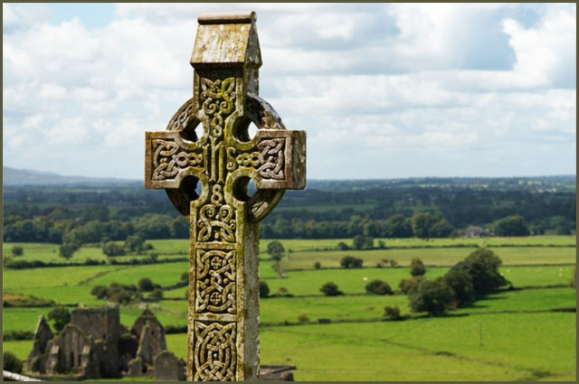 Image result for celtic cross monastery